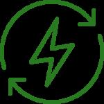 Ensamble investigaciones Icono Energía Renovable