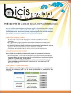Imagen Reporte Bicis de Calidad