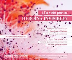 Heroinas InVisibles 3 Votacion