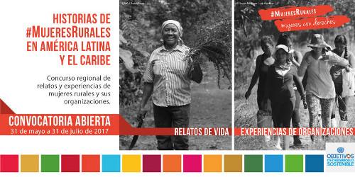 Historias Concurso mujeres rurales FAO