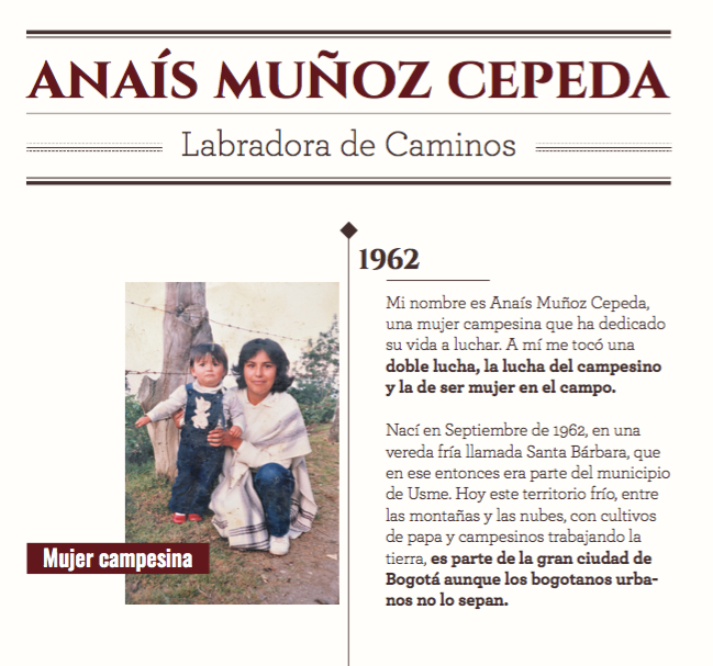 Imagen Mujer Campesina - Anaís Muñoz Cepeda