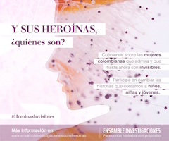 Campaña heroinas invisibles